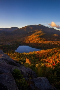 Happy First Day of Autumn Adirondack Mountains NY