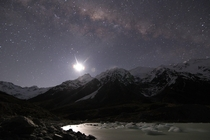 Happy New Year from New Zealands Hooker Lake