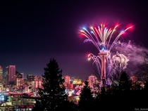 Happy New Year from Seattle WA