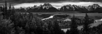 Happy th birthday to the National Park Service Panorama from Snake River Overlook Grand Teton National Park Wyoming