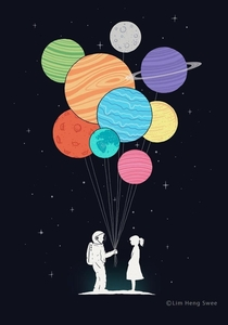 Happy Valentines Day for all the space lovers