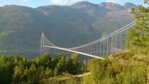 Hardanger bridge Norway