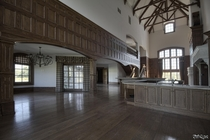 Hardwood for Days Inside this Vacant  Mansion