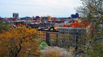 Harlem NY - View from Morningside Park
