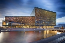Harpa concert hall in Reykjavik was designed by Danish-Icelandic artist Olafur Elasson alongside Henning Larsen Architects and Batteri Architects