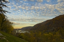 Harpers Ferry WV shot from Jefferson Rock