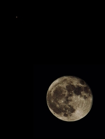 Harvest Moon and Mars