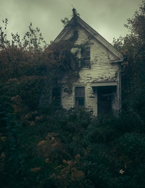Haunted house in my hometown  Massachusetts