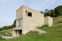 Haus Rauch - rammed earth construction - By Roger Boltshauser amp Martin Rauch - Schlings Austria