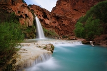 Havasu Falls - Arizona  photo by Nathaniel Polta