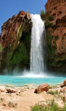 Havasu Falls Unfiltered - people seemed to question the color of a previous photo someone posted