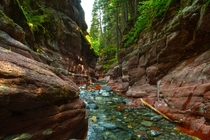 Have you read about Red Rock canyon AlbertaCanada