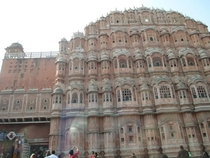 Hawa Mahal palace of the winds Jaipur India built in