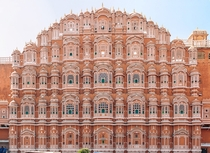 Hawa Mahal Palace of Winds Jaipur India  Photo by Sasmit Ranadive