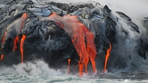 Hawaii United States - Searing Magma