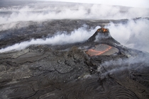 Hawaiis Klauea Volcano by the USGS