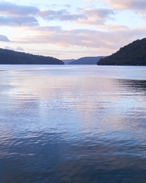 Hawkesbury River in New South Wales Australia