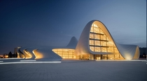 Haydar Aliyev Center Baku Azerbaijan Designed by Zaha Hadid