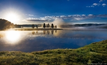 Hayden Valley Yellowstone National Park - Wyoming