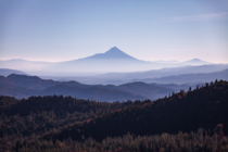 Haze in the Cascades OR