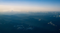 Hazy layers of Washington