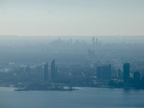 Hazy Mississauga ON