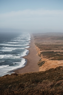Hazy Morning at Point Reyes National Seashore CA  presonlam