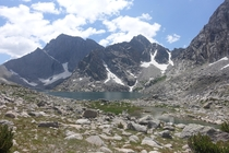 Heading up to Temple Pass Wind River Range
