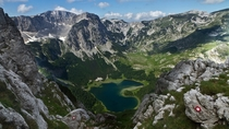 Heart shaped lake Durmitor National Park Montenegro  by Nebojsa Atanackovic