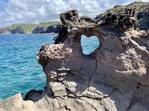 Heart Shaped Rock Maui Hawaii