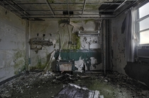 Heavily Decay Patient Room Inside the Abandoned St Josephs Hospital in Parry Sound Ontario