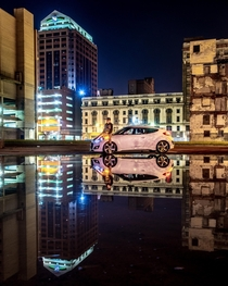 Heavy rains in the Dayton Ohio area lead to some sweeeet puddles shots Im a sucker for reflections