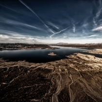 Helicopter View from Lake Mead Nevada  IG GiorgioSuighi