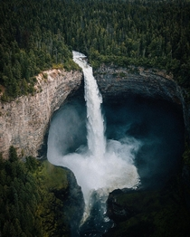 Helmcken Falls British Columbia Canada  - This is a Throwback picture to our truly appreciated lovely time in Canada in  Hopefully we can be back someday