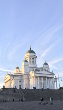 Helsinki Cathedral by Carl Ludvig Engel