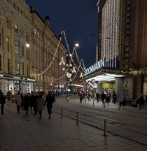 Helsinki Finland Stockmann is the th largest department store in Europe