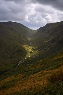 Helvellyn Lake District UK