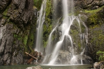 Henline Falls Marion County Oregon