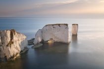 Here Comes the Sun Old Harry Rocks in the Morning Dorset United Kingdom