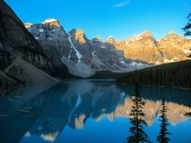 Here is My Version of the Most Photographted Place in Canada - Moraine Lake Alberta Canada OCx