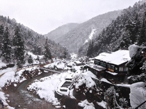 Heres a picture I took today near the snow monkey park outside of Nagano Japan