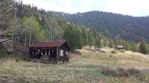 Heres another abandoned Colorado ranch