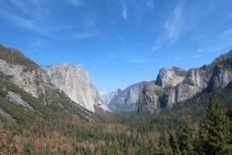 Heres my humble offering of El Capitan and Half Dome in the back Im no camera pro  ireddit