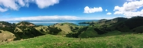 Heres what you are missing out in New Zealand Panoramic view of Coromandel