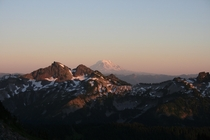 Heres what youd see looking the other direction from Mt Rainier REMy last post