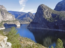 Hetch Hetchy Reservoir in California