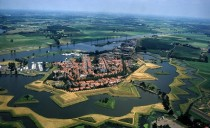 Heusden the Netherlands - a restored fortified town on the Meuse