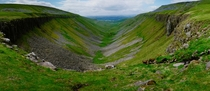 Hey Reddit I made a  megapixel panorama for you Enjoy High Cup Nick Cumbria England