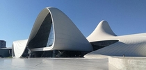 heydar aliyev center Baku A magnificent building