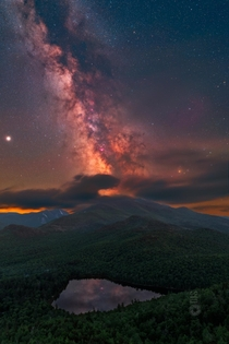 Heyyy Dan Stein here  Milky Way nightscape and astro connoisseur outdoor enthusiast and lover of our planet together with space  AMA  Milky Way from the Adirondacks NY